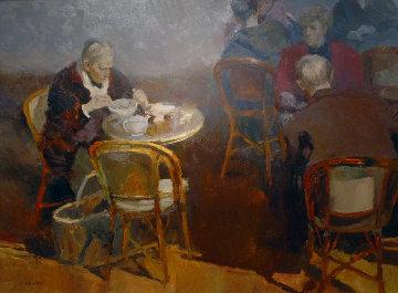 Passing Through 35x47 Original Painting - Dan McCaw