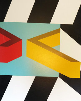 Caves 1979 Limited Edition Print - Allan D'Arcangelo