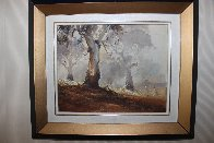 Ghost Gums 1972 15x12 Original Painting by d'Arcy Doyle - 1