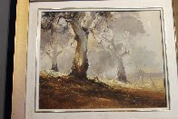 Ghost Gums 1972 15x12 Original Painting by d'Arcy Doyle - 2