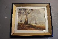 Ghost Gums 1972 15x12 Original Painting by d'Arcy Doyle - 5