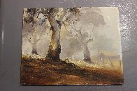 Ghost Gums 1972 15x12 Original Painting by d'Arcy Doyle - 8