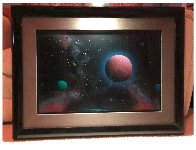 Cloud Moon Study 1990 24x32 Original Painting by Dave Archer - 1