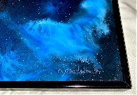 Galactic Fragment 1984 14x14 Original Painting by Dave Archer - 4