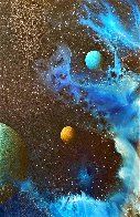 Galactic Fragment 1984 14x14 Original Painting by Dave Archer - 6