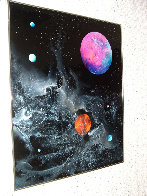 Cosmic Detail 1976 26x24 Original Painting by Dave Archer - 1