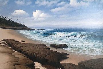 South Wind, La Jolla 33x45 Original Painting by David Dalton