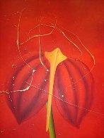 Concerto Pour Un Chat Touge Triptych 2004 63x121 Mural Super Huge Original Painting by David Farsi - 3