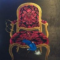 La Poupee 2016 38x39 Original Painting by David Farsi - 0