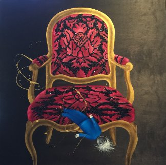 La Poupee 2016 38x39 Original Painting by David Farsi
