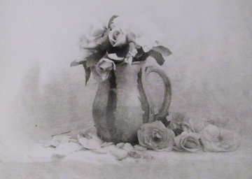 Roses in Pitcher 1992 Photography by David Hamilton