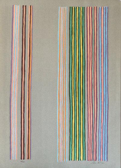 Royal Curtain 1980 Limited Edition Print by Gene Davis