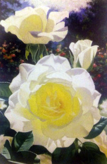 Rose Garden At the Huntington 2000 Limited Edition Print by Brian Davis
