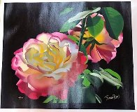 Roses in the Leaves 2000 Limited Edition Print by Brian Davis - 1