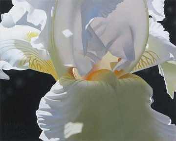 Iris Dream 16x20 Original Painting by Brian Davis