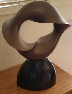 Untitled Bronze Sculpture 1985 22 in Sculpture - Donald  Davis