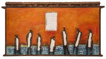 7 Men Out 2016 58x35 Original Painting by William DeBilzan