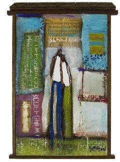 This is Why 2017 39x26 Original Painting by William DeBilzan