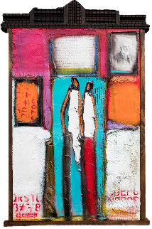 All You Need 2017 43x25 Huge Original Painting - William DeBilzan