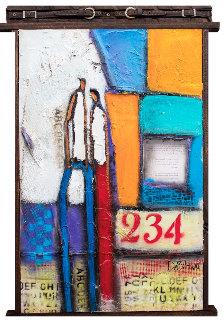 Loving You is Ez 2017 27x39 Original Painting - William DeBilzan