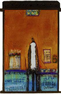 Finding My Way 2016 37x25 Original Painting - William DeBilzan