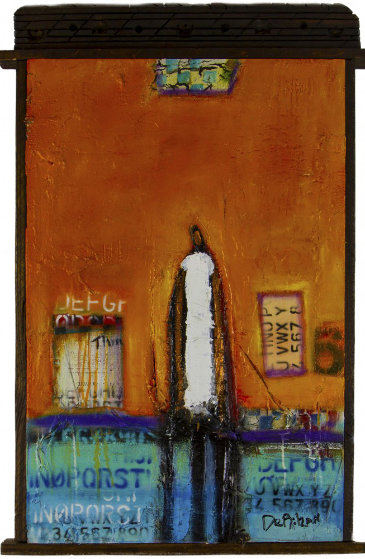 Finding My Way 2016 37x25 Original Painting by William DeBilzan