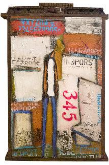 Sometime Somewhere 2017 36x24 Original Painting - William DeBilzan