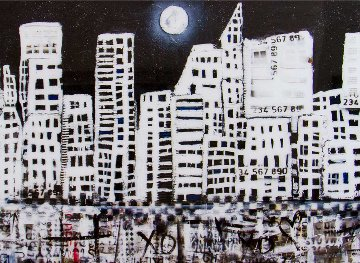 Midnight Skyline 2017 Limited Edition Print - William DeBilzan