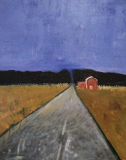 Coming Home 1999 48x36 Original Painting - William DeBilzan
