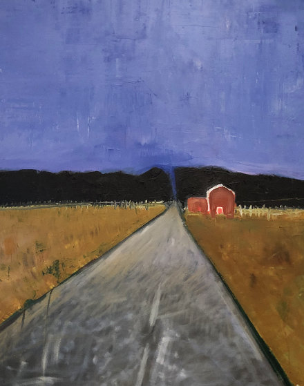 Coming Home 1999 48x36 Original Painting by William DeBilzan