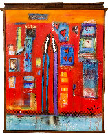Once Upon a Time 2018 55x64 Super Huge Original Painting by William DeBilzan - 0