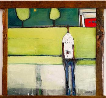Revealed 2004 67x78 Huge Original Painting - William DeBilzan