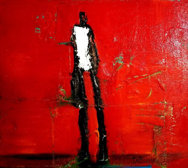 Untitled Mixed Media 28x26 Original Painting by William DeBilzan