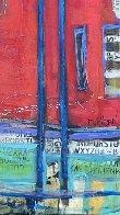 Untitled Painting (Diptych) 90x48 Huge Original Painting by William DeBilzan - 2