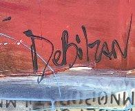 Untitled Painting (Diptych) 90x48 Huge Original Painting by William DeBilzan - 5