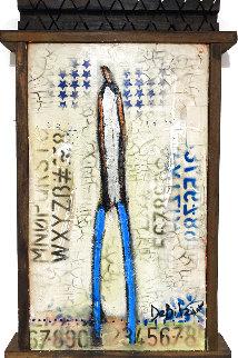 Starstruck 2021 24x15 Original Painting - William DeBilzan