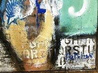 Naked in Love  2021 24x15 Original Painting by William DeBilzan - 2