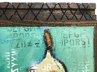 Naked in Love  2021 24x15 Original Painting by William DeBilzan - 3