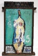 Naked in Love  2021 24x15 Original Painting by William DeBilzan - 1