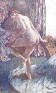 Apres Le Bain 1919 Limited Edition Print - Edgar Degas