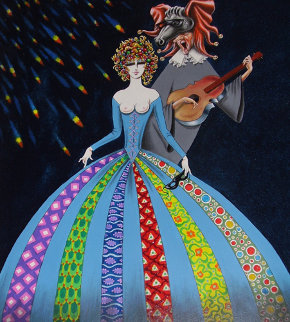 Serenade 24x18 Original Painting by Eric De Kolb