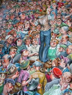 Campaign 24x18 Original Painting - Eric De Kolb