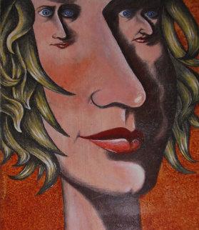 Dreaming 24x18 Original Painting - Eric De Kolb