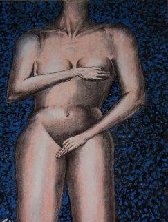 Touch 24x18 Original Painting by Eric De Kolb
