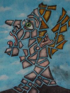 Nervous Breakdown 24x18 Original Painting by Eric De Kolb