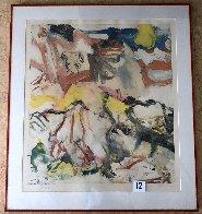 Figures in Landscape 1980 Limited Edition Print by Willem De Kooning - 1
