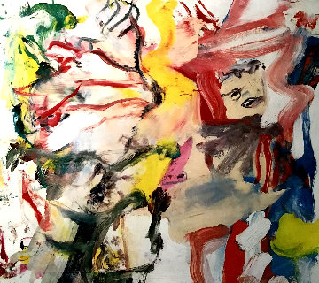 Figures in a Landscape 1980 Limited Edition Print - Willem De Kooning