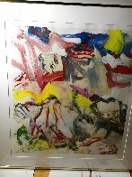 Figures in Landscape VI 1980 Limited Edition Print by Willem De Kooning - 1