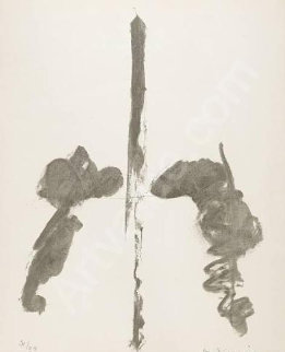 Washington Monument 1970 Limited Edition Print - Willem De Kooning