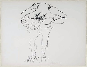 Clam Digger 1966 Limited Edition Print - Willem De Kooning